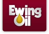 Large Ewing Oil Logo links to homepage